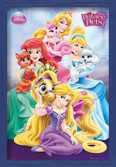 Plakát  Disney Princess Palace Pets - Group
