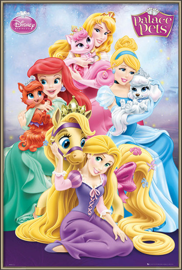 Plakát  Disney Princess Palace Pets - Group