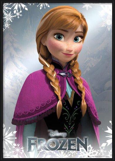 Ledové království - Anna - Metalický plakát