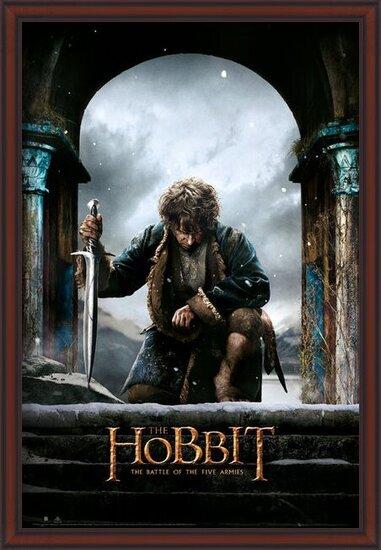Plakát Hobit 3: Bitva pěti armád - Bilbo