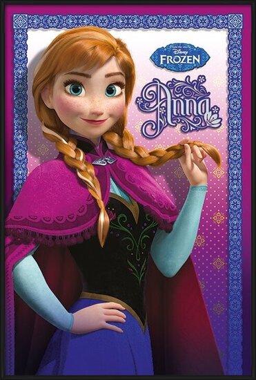 Plakát  Ledové království - Anna