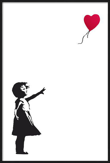 Plakát  Banksy Street Art - Hope