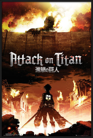 Plakát Attack on Titan (Shingeki no kyojin) - Key Art
