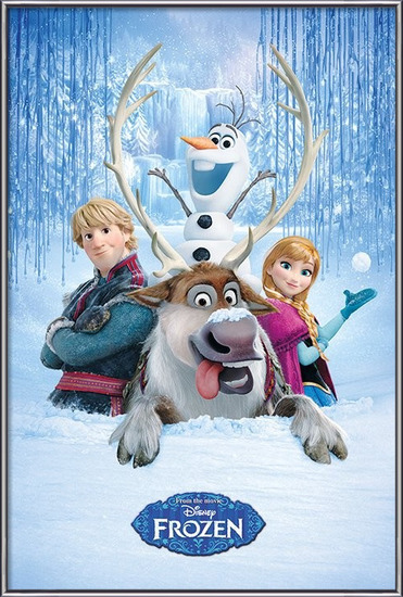 Plakát  Ledové království - Snow Group