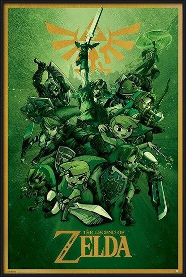 Plakát  The Legend Of Zelda - Link