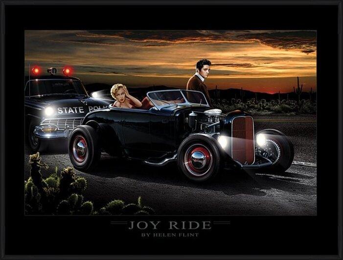 Obrazová reprodukce Joy Ride - Helen Flint