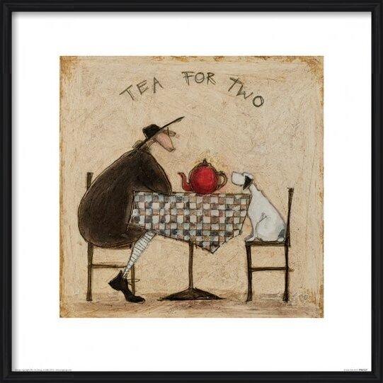 Obrazová reprodukce Sam Toft - Tea for Two