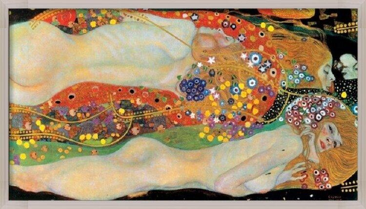 Obrazová reprodukce Vodní hadi II
