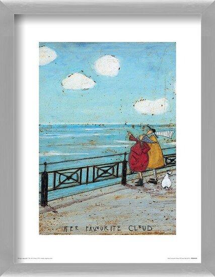 Obrazová reprodukce Sam Toft - Her Favourite Cloud