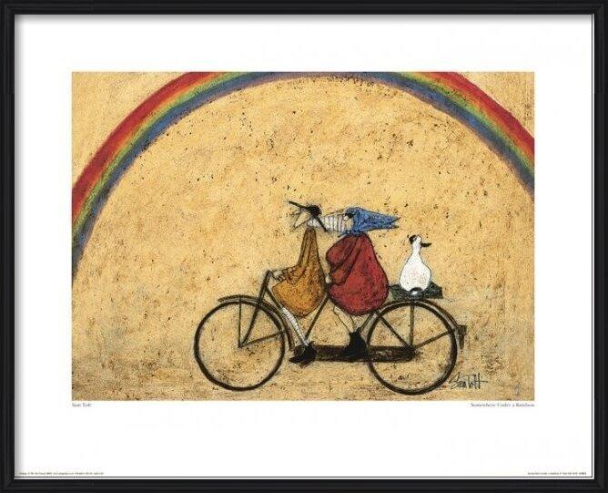 Obrazová reprodukce Sam Toft - Somewhere Under a Rainbow