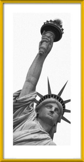 Obrazová reprodukce  New York - Socha Svobody, Amy Gibbings