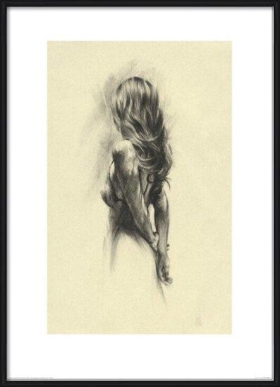 Obrazová reprodukce  Žena - Back
