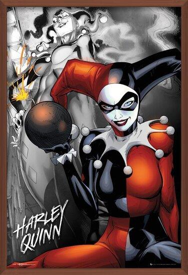 Plakát DC Comics - Quinn The Bomb