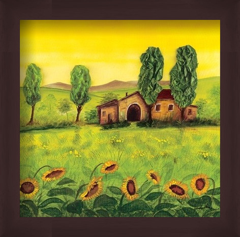 Obrazová reprodukce Farma Emilian