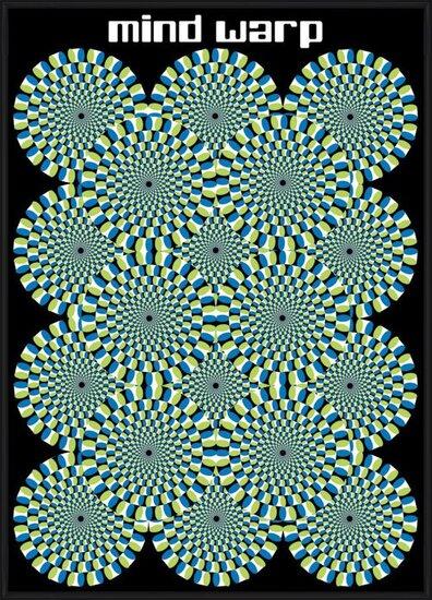Plakát  Mind warp - circles