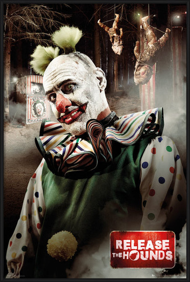 Plakát Release the Hounds - Clown