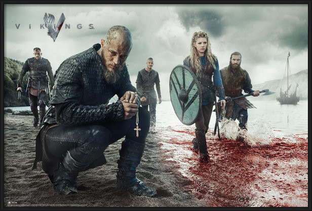 Plakát  Vikings - Blood Landscape