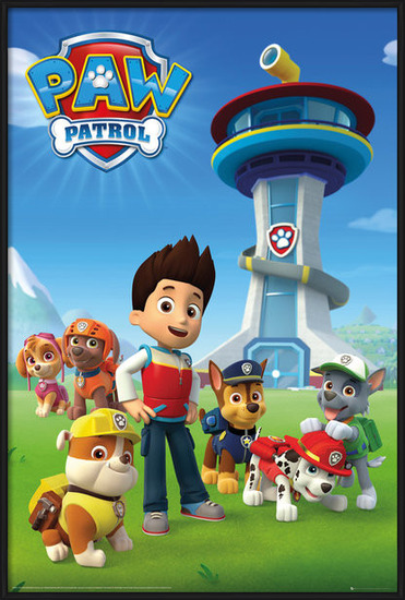 Plakát  Tlapková patrola - Team