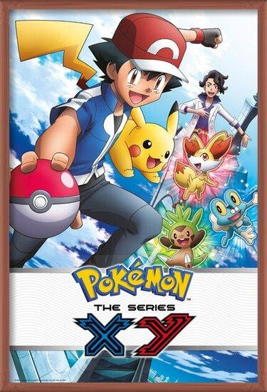 Plakát Pokémon - X & Y