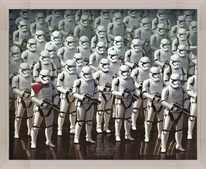 Plakát  Star Wars VII: Síla se probouzí - Stormtrooper Army