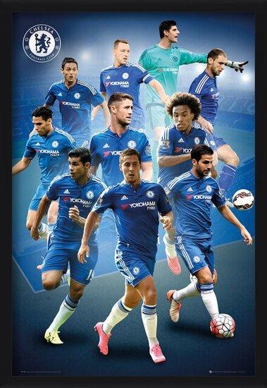Plakát  Chelsea FC - Players 15/16