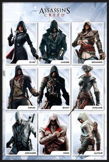 Plakát Assassin's Creed Compilation