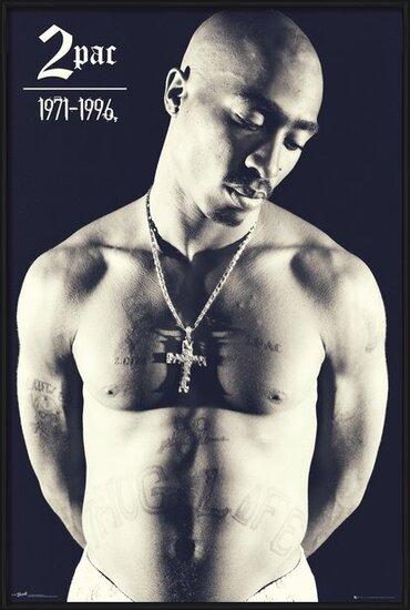 Plakát  Tupac - Cross