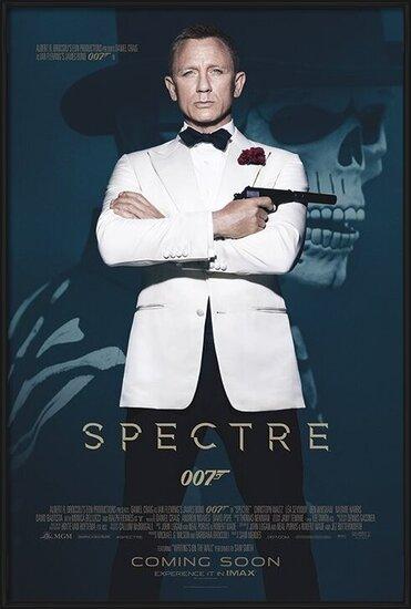 Plakát  James Bond: Spectre - Skull