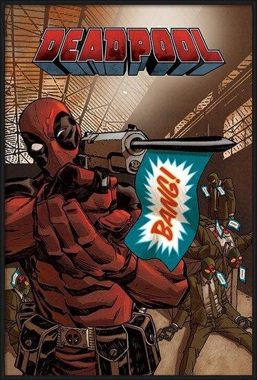 Plakát  Deadpool - Bang