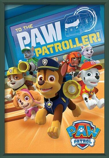 Plakát  Tlapková patrola - To The Paw Patroller