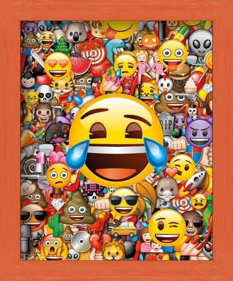 Plakát  Emoji - Collage