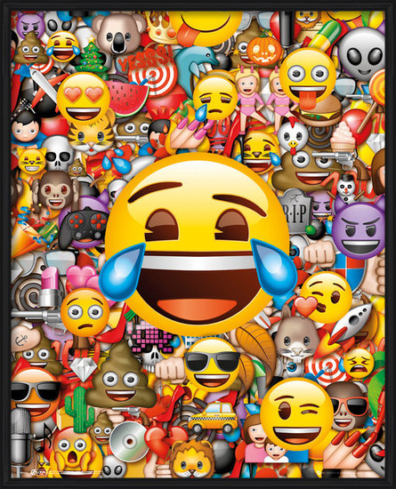 Plakát Emoji - Collage
