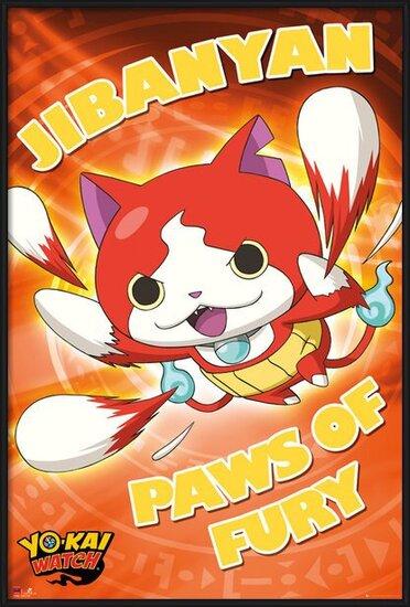 Plakát  Yo-Kai Watch - Paws of Fury