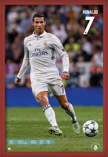 Plakát  Real Madrid - Ronaldo