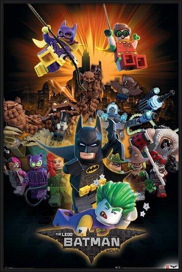 Plakát  Lego Batman - Boom