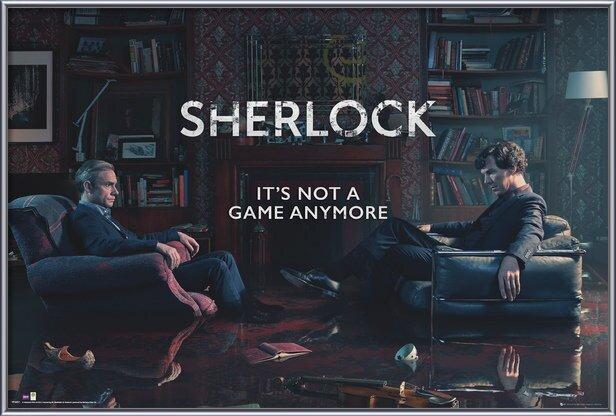 Plakát  Sherlock - Rising Tide