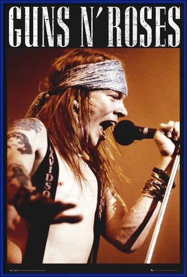 Plakát  Guns'N'Roses - Axel