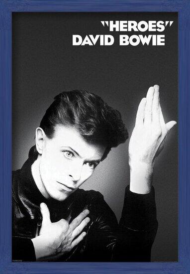 Plakát  David Bowie - Heroes