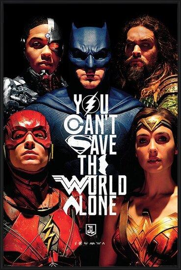 Plakát  Justice League Movie - Save The World