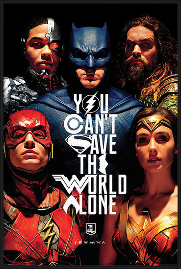 Plakát  Justice League Movie - Save The World