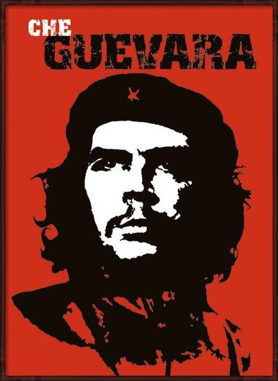 Plakát  Che Guevara - red