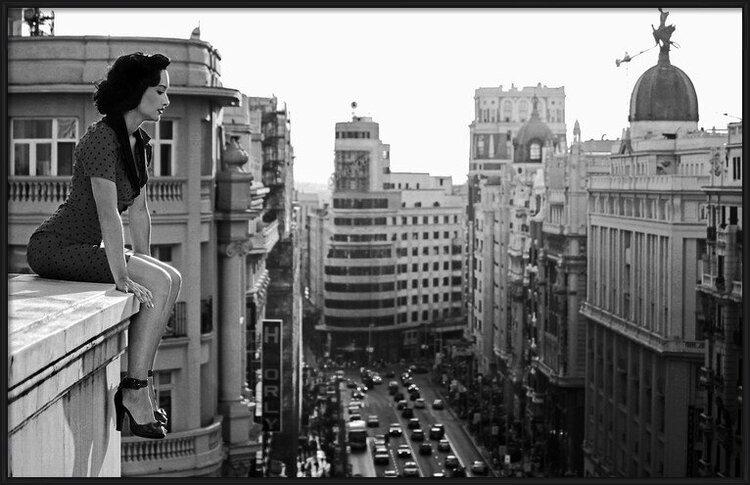 Umělecká fotografie  Mad Madrid