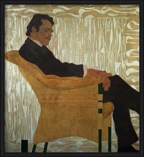 Obrazová reprodukce  Portrait of Hans Massmann, 1909