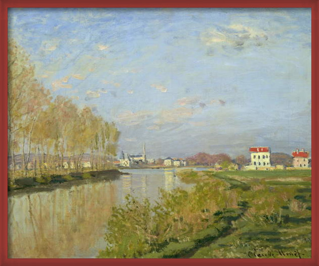 Obrazová reprodukce The Seine at Argenteuil, 1873