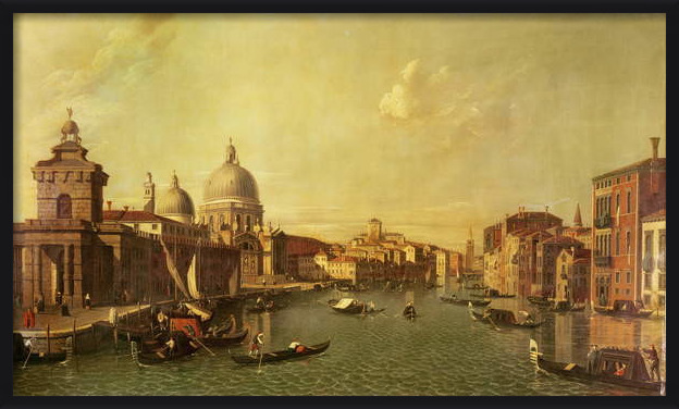 Obrazová reprodukce The Church of La Salute and the Grand Canal