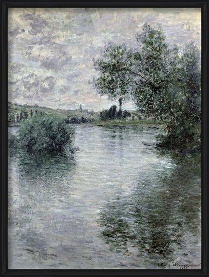 Obrazová reprodukce The Seine at Vetheuil, 1879