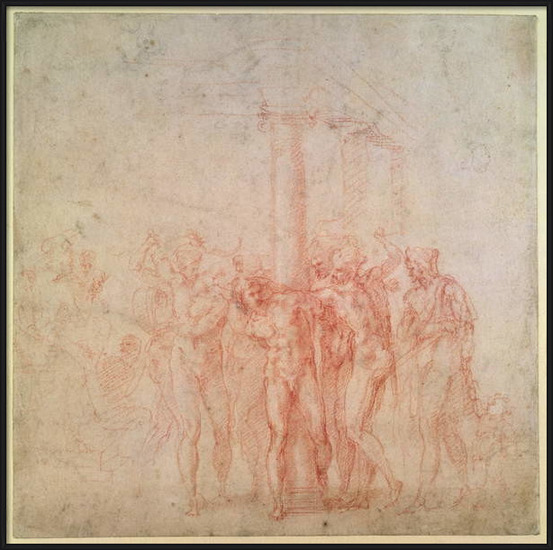 Obrazová reprodukce Inv. 1895 6-15-500. R. (W.15) The Flagellation of Christ