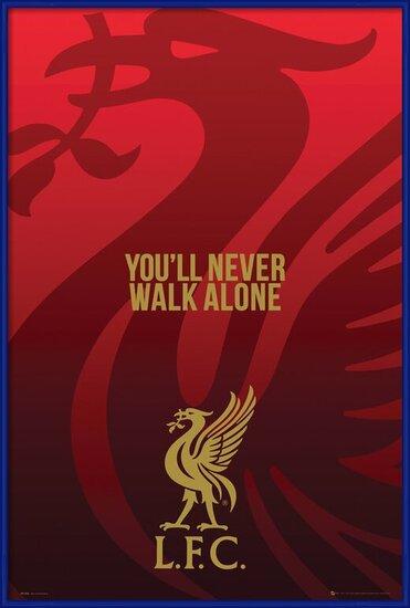 Plakát  Liverpool - Liverbird