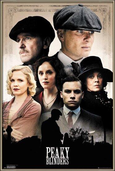Plakát Peaky Blinders - Cast