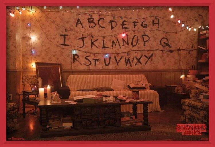 Plakát  Stranger Things - Alphabet